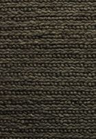 hand knotted wool rug dark grey