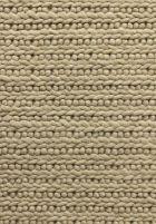 hand hooked wool beige
