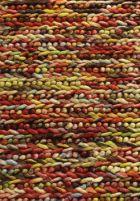 wool hand knotted rainbow multi