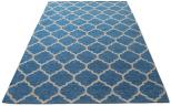 deco rug blue