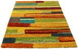 multi coloured rug Blocks