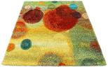 multi coloured rug bubbles circles