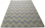 chevron rug grey