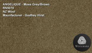 Wool plush mossy green eucalypt brown wool carpet cheap godfrey hirst