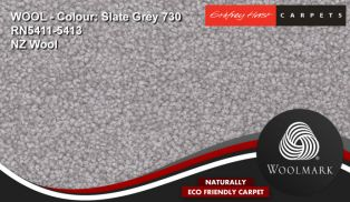 Godfrey hirst feltex hycraft 80 20 WOOL twist CARPETS CARPET slate grey RN5411 5413