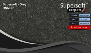 super soft supersoft carpet RN5397 Grey gray