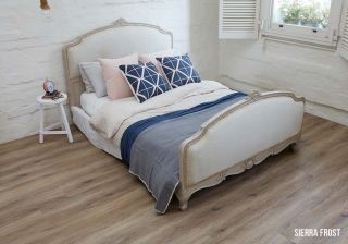 loose lay luxury vinyl sierra frost room