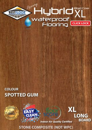 hybrid spotted gum australian coastal cheapest best hybrid waterproof flooring