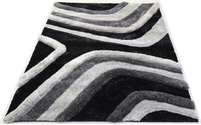 3d grey rug