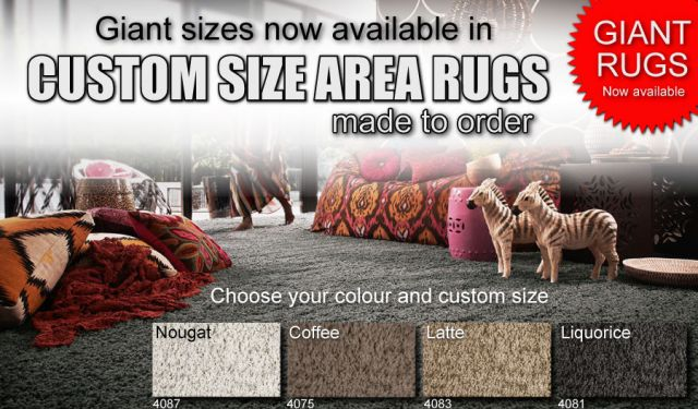 giant area rug custom made