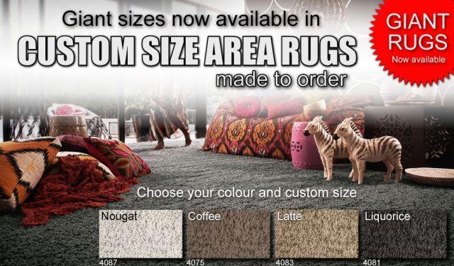 giant area rug custom made