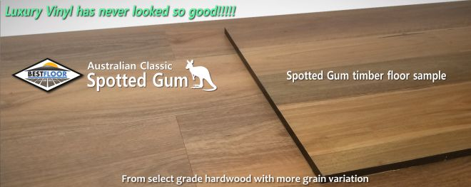 Australian Classic spotted most accurate match to genuine spotted gum