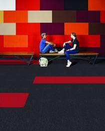 Presto pro plus multi coloured carpet tiles 3