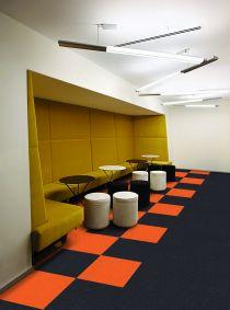 Presto pro plus multi coloured carpet tiles 2