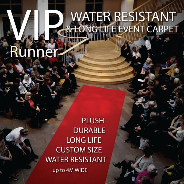 RED CARPET AND EVENT RUNNER WATER PROOF