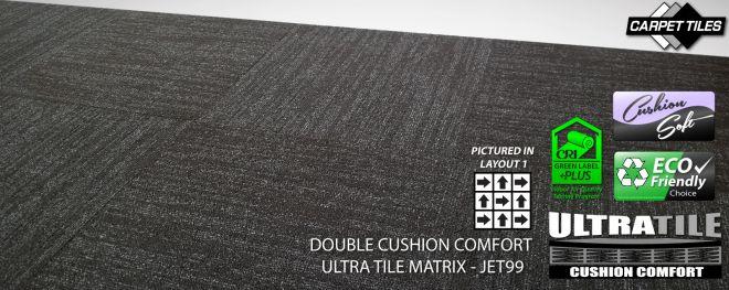 banner the ultimate cushion back carpet tile the best carpet tile you can buy