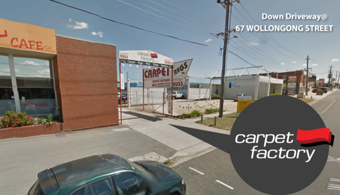 carpet factory map entry